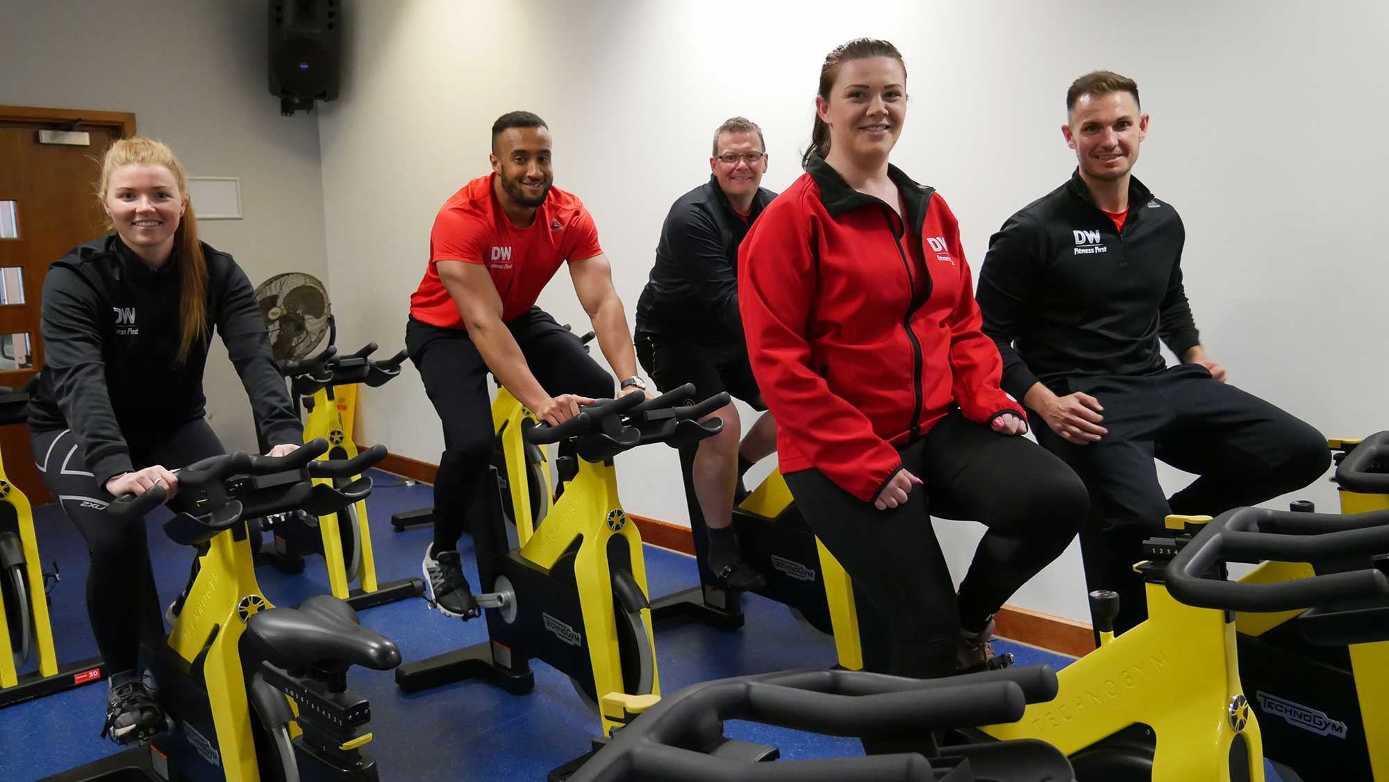Staff from DW Fitness First in Preston are taking on the St Catherine's Hospice Manchester to Blackpool Bike Ride