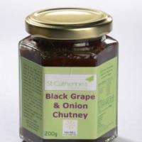 St Catherine's Black Grape & Onion Chutney (200g)