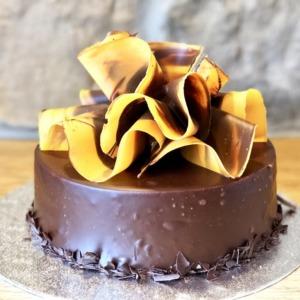 Celebration Cake – Chocolate Orange Truffle Cake