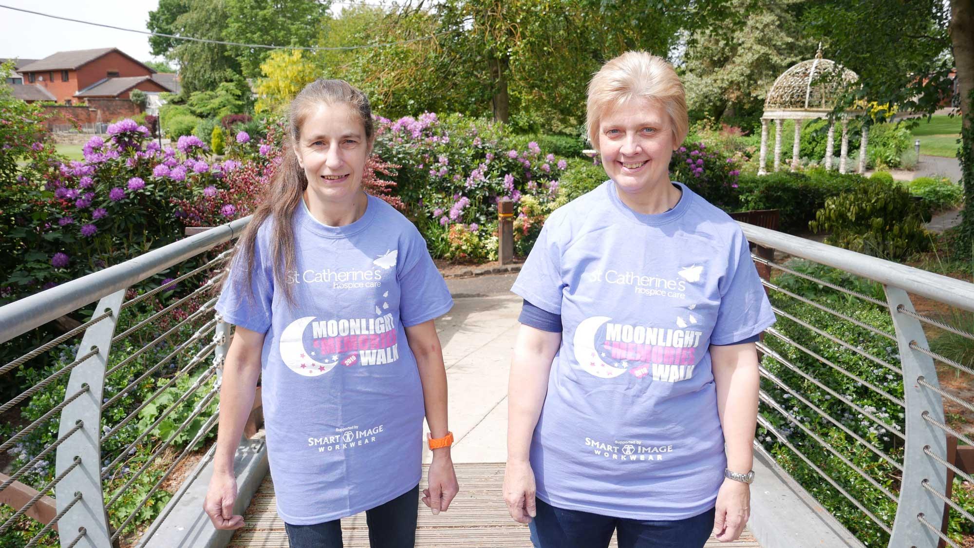 Ellen Whittingham and Louise Houghton
