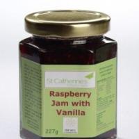 St Catherine's Raspberry Jam with Vanilla 227g